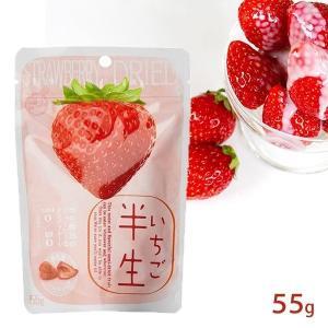 半生フルーツ いちご 55g しっとり食感 ドライフルーツ tonya