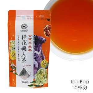 久順銘茶 桂花美人茶 ティーバッグ 10TB 台湾大烏龍茶 tonya