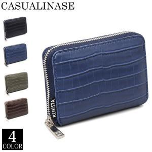 二つ折り財布 メンズ 財布 ラウンドファスナー サイフ さいふ コンパクトウォレット 2つ折り財布 クロコ型押し ジップ 男性用 カード小銭入れ 小物 ブランド tool-power