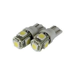 T10型 LEDウェッジバルブ 5連 2コセット ■21541 tool-shop-ten