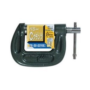パワーCクランプ 25mm 14450 ミツトモ ■21651|tool-shop-ten