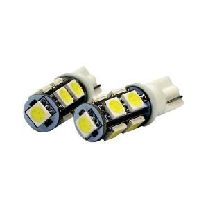 T10型 LEDウェッジバルブ 9連 2コセット ■21850 tool-shop-ten