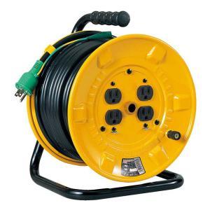 電工ドラム 30m NP−E34 送料無料 日動工業 ■24381|tool-shop-ten