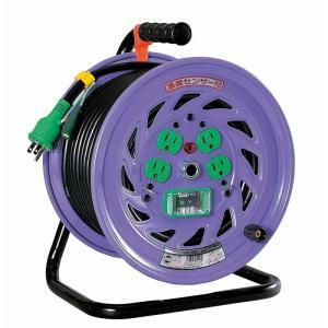 センサー付電工ドラム 30m NF-EB34 送料無料 日動工業 ■24382|tool-shop-ten