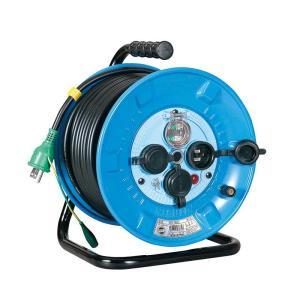 防雨型電工ドラム 30m NPW-EB33 送料無料 日動工業 ■24384|tool-shop-ten