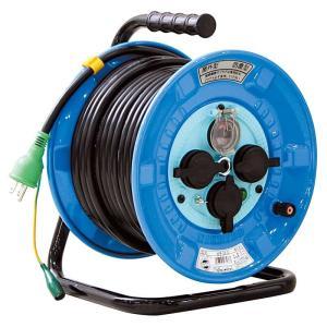 防雨型電工ドラム 30m NPW-EK33 送料無料 日動工業 ■24385|tool-shop-ten