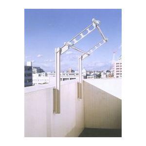 川口技研 腰壁用ホスクリーン上下式 ローコストタイプ GP-55型  シルバー 1セット(2本組)|tool4u