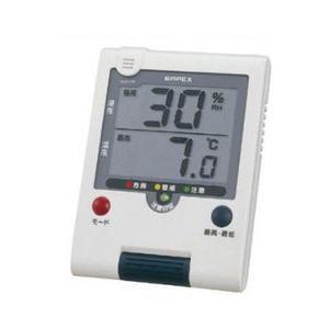 ユニット 熱中症インフル切替温湿度計 WT-916 熱中症対策