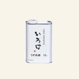 アールジェイ 自然塗料 いろは うすめ液 1L YX-01|tool4u