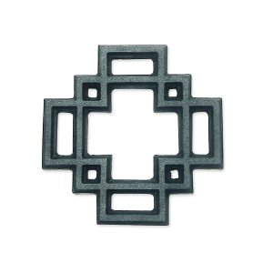 OIGEN オイゲン 及源鋳造 南部鉄器 瓶敷 唐花 D-235|toolandmeal