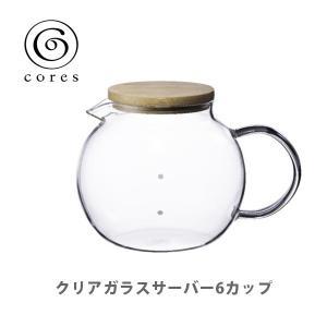 cores コレス クリアガラスサーバー 6カップ C516|toolandmeal