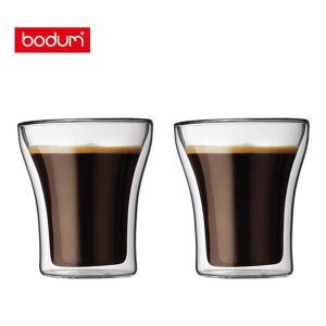 bodum ボダム ASSAM アッサム ダブルウォールグラス 0.2L (2個セット) 4555-10|toolandmeal