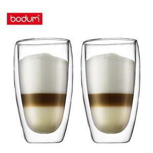 bodum ボダム PAVINA パヴィーナ ダブルウォールグラス 0.45L (2個セット) 45...