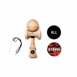 ALL オール けん玉 ALL x KENHOL Manufacturing YAMAGATA KOUBOU【ストリートけん玉】【KENDAMA】【ケンダマ】【トリック】【練習】 toolate