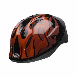BELL ベル キッズ・子供用ヘルメット ZOOM2 ズーム2 ブラック/レッドフレイムス【ストライダー】【対象年齢2才〜5才】【ダイヤル調節】|toolate