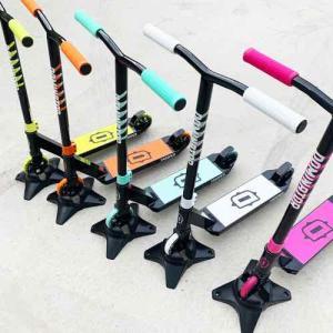 フリースタイルスクーターキッズモデル DOMINATOR ドミネーター TROOPER トゥルーパー オレンジ 身長90~120cm キックボードスタントトリック|toolate