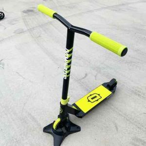 フリースタイルスクーターキッズモデル DOMINATOR ドミネーター TROOPER トゥルーパー イエロー 身長90~120cm キックボードスタントトリック|toolate