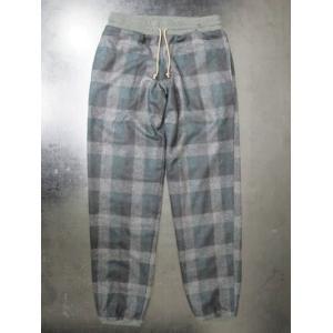 サイズ限定セール green clothing グリーンクロージング イージーパンツ FLANNEL PANTS グリーン【スノーボード】|toolate