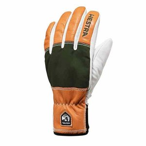 HESTRA ヘストラ グローブ 30770 Army Leather Abisko Green【レザー】【スキー】【スノースクート】|toolate