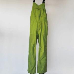 【国産GORE-TEXアウトドアウェア】HID エイチアイディ 40dn Zero Fighter Bib pants 40デニール ゼロファイタービブパンツ Aoni|toolate
