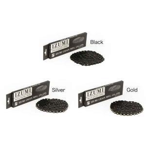 IZUMI x MASH Jet Black Chain 116L 【ピスト】【BMX】【高品質】【厚歯用】【シングルスピード】 toolate