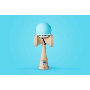 KROM クロム けん玉 KROM POP Light Blue【ストリートけん玉】【KENDAMA】【ケンダマ】【トリック】【練習】|toolate