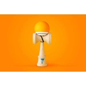 KROM クロム けん玉 KROM POP Orange【ストリートけん玉】【KENDAMA】【ケンダマ】【トリック】【練習】|toolate
