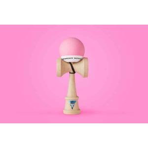 KROM クロム けん玉 KROM POP Pink【ストリートけん玉】【KENDAMA】【ケンダマ】【トリック】【練習】|toolate
