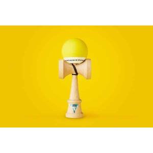 KROM クロム けん玉 KROM POP Yellow【ストリートけん玉】【KENDAMA】【ケンダマ】【トリック】【練習】|toolate