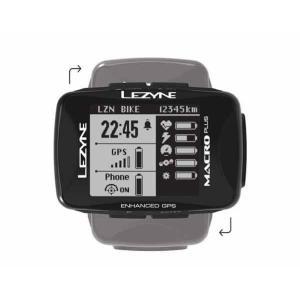 LEZYNE レザイン MACRO PLUS GPS【サイクルコンピュータ】【USB充電】【自転車】【日本国内正規販売モデル】【スマートフォン連動】【ナビゲーション】|toolate