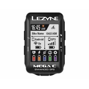 LEZYNE レザイン MEGA C GPS【サイクルコンピュータ】【USB充電】【自転車】【日本国内正規販売モデル】【スマートフォン連動】【ナビゲーション】|toolate