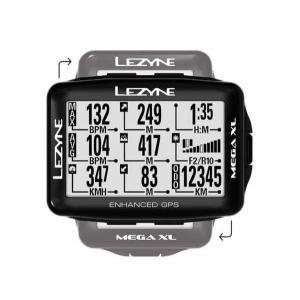LEZYNE レザイン MEGA XL GPS【サイクルコンピュータ】【USB充電】【自転車】【日本国内正規販売モデル】【スマートフォン連動】【ナビゲーション】|toolate
