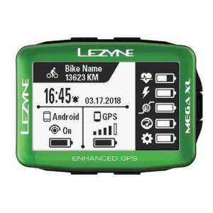 LEZYNE レザイン MEGA XL GPS LIMITED EDITION【サイクルコンピュータ】【USB充電】【日本国内正規販売モデル】【スマートフォン連動】【ナビゲーション】|toolate