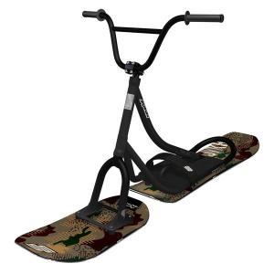 【ワイドモデル最新】スノースクート SNOWSCOOT Style-G マットブラック【プロ組立済み】|toolate