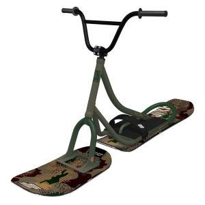 【ワイドモデル最新】スノースクート SNOWSCOOT Style-G ミリタリーグリーン【プロ組立済み】|toolate