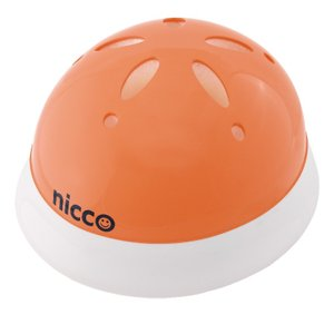 KH002LOR 子供用自転車ヘルメット(頭周47〜52cm) nicco(ニコ) カラー:オレンジ ベビーヘルメットL クミカ工業 日本製 kumika toolexpress