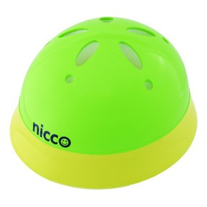 KH002YG 子供用自転車ヘルメット(頭周46〜50cm) nicco(ニコ) カラー:イエローグリーン ベビーヘルメット クミカ工業 日本製 kumika toolexpress