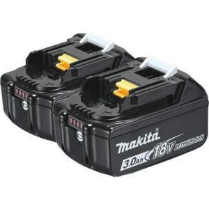 マキタ BL1830B リチウムイオンバッテリー 18V 純正 3.0Ah 2個セット/残量表示+自己故障診断機能付き/BL1840,BL1850,BL1860 機種対応|toolhomes