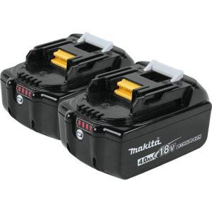 マキタ 純正 18V リチウムイオンバッテリー BL1840 2個セット/4.0Ah/ BL1830,BL1850 機種対応|toolhomes