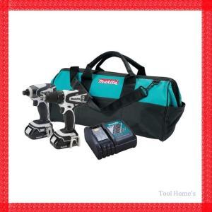 マキタ 18V 充電式 インパクトドライバー 等 5点セット/コードレス [ DC18RC ][ BL1820 ]/LCT200XC/リチウムイオンバッテリー/充電器/電動工具|toolhomes