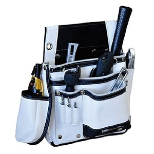 582504 DTL-11-WH DBLTACT 本革腰袋 ホワイトの画像