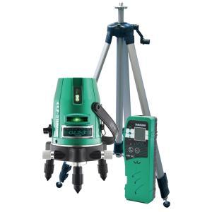 山真製鋸(YAMASHIN) グリーンレーザー墨出し器 フルセット GLZ-3-W|toolmania-n