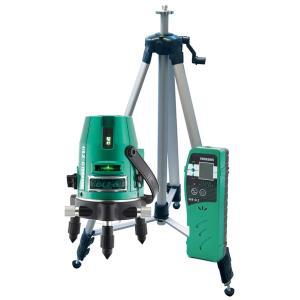 山真製鋸(YAMASHIN) グリーンレーザー墨出し器 フルセット GLZ-6-W|toolmania-n