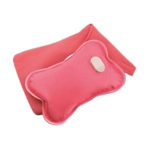 お湯の交換不要の充電式湯たんぽ  柔軟性のカーボンファイバーヒーター採用で柔らかな手触り  電極分解...