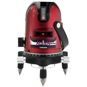 山真製鋸(YAMASHIN) レッドエイリアン レーザー墨出し器 RA-06|toolmania-n