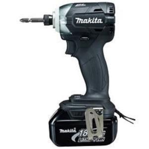 マキタ 充電式インパクトドライバー 18V 3.0Ah 黒 TD148DRFXB(バッテリー2個・充電器・ビット・収納ケース付) toolmania-n