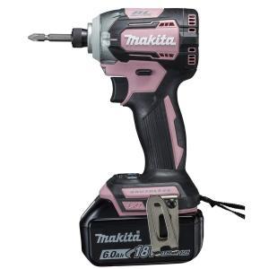 マキタ TD170DRGXP 充電式インパクトドライバー ピンク 18V 6.0Ah(バッテリー2個・充電器・ビット・収納ケース付) toolmania-n