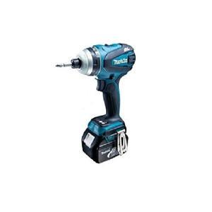 マキタ 充電式4モードインパクトドライバー 18V 5.0Ah 青 TP141DRTX toolmania-n