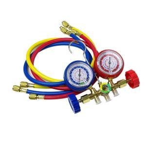 【特長】 ●エアコンガスチャージキットマニホールドゲージです。 ●低圧、高圧側圧力をメーターで表示し...