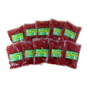 エレクトロタップ 赤 0.5〜0.85SQ 300V 1000個|toolshop-dream